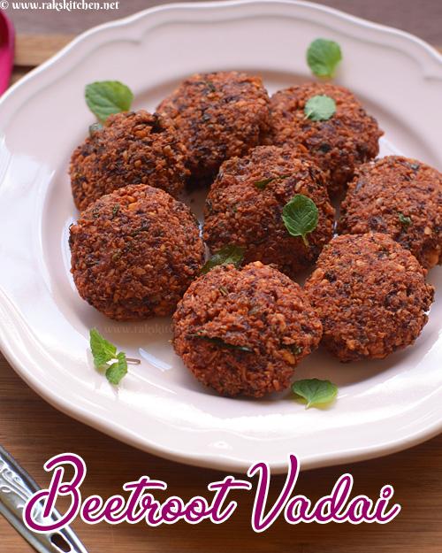 beetroot-vadai-recipe