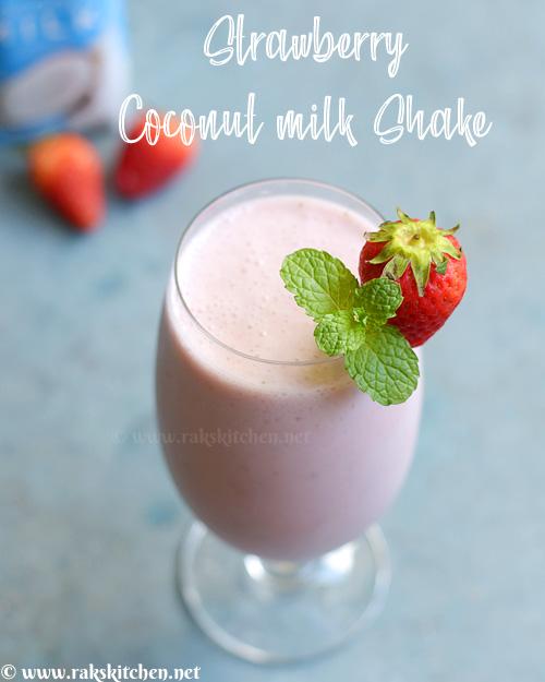 strawberry-coconut-milk-shake