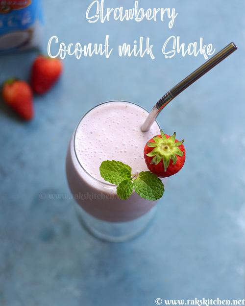 strawberry-coconut-milkshake