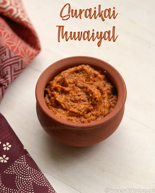 suraikai-thuvaiyal-recipe