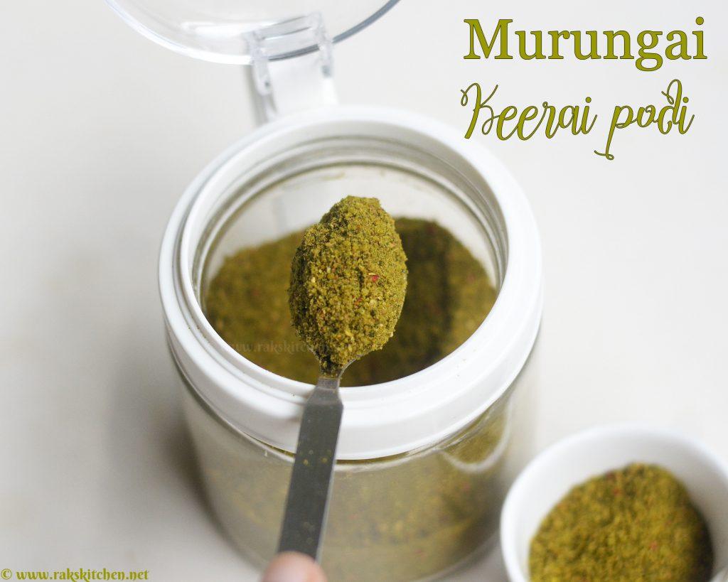 murunga-keerai-podi