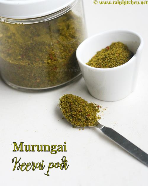 murungai-keerai-podi