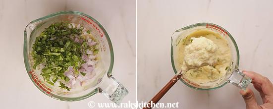 Receita de Moonglet, estilo de comida de rua de Moong dal chilla 6