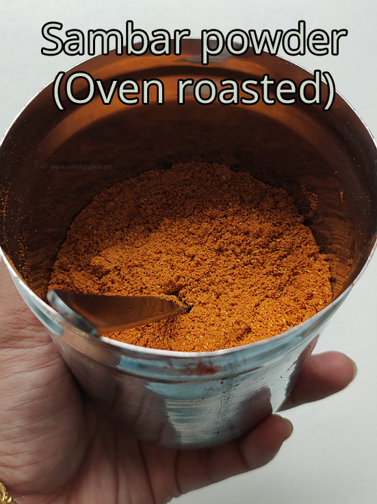 sambar-powder-oven-roasted