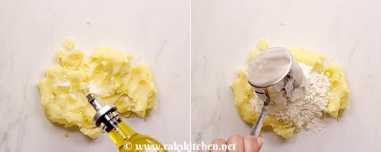 Gnocchi sem ovos na manteiga e sálvia 6