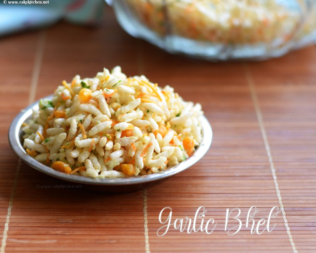 garlic-bhel