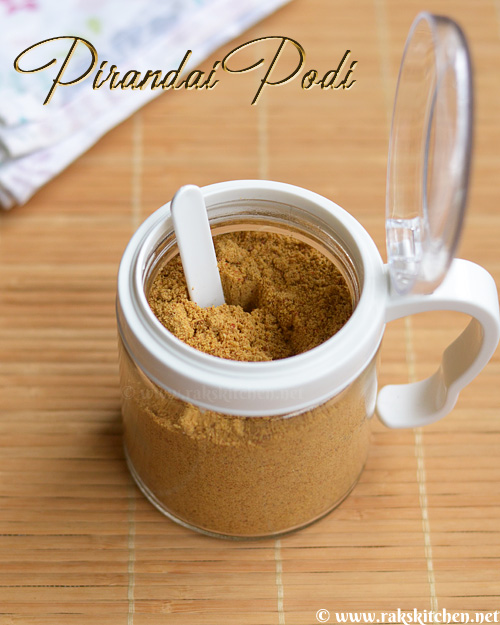 pirandai-podi-recipe