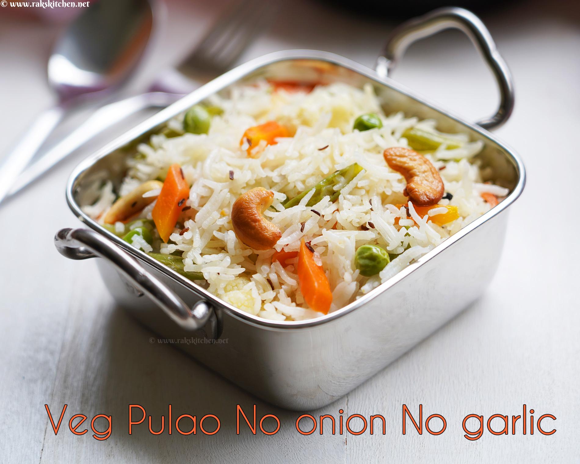 no-onion-no-garlic-veg-pulao