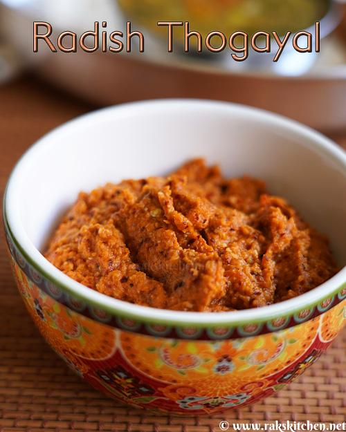 radish-thogayal