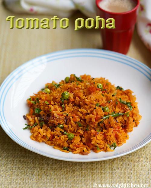 tomato-poha
