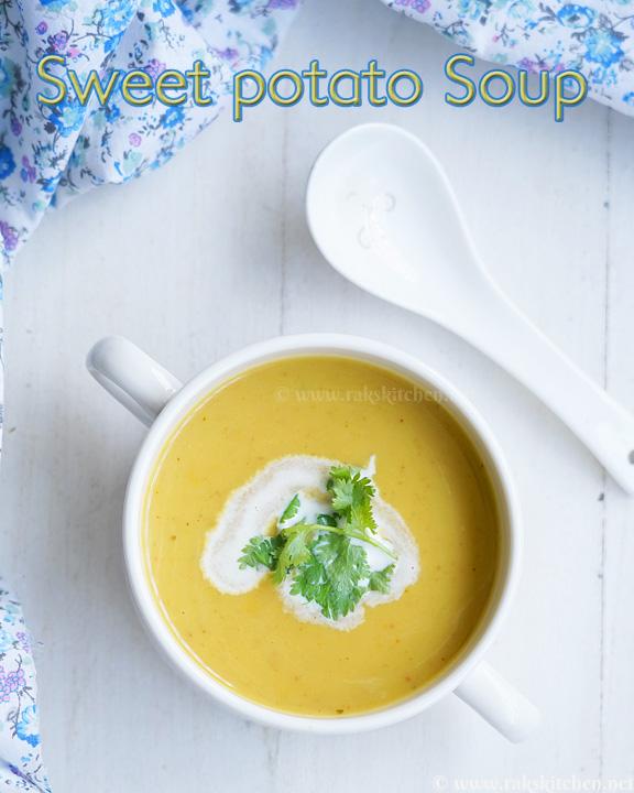 sopa de batata doce masoor dal