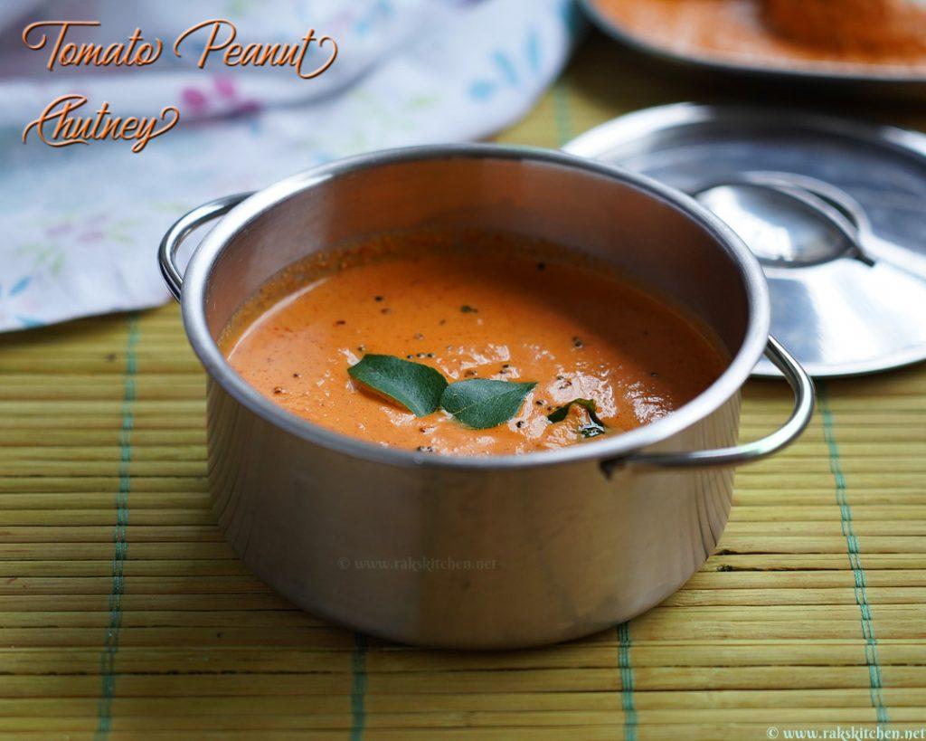 tomate-amendoim-chutney