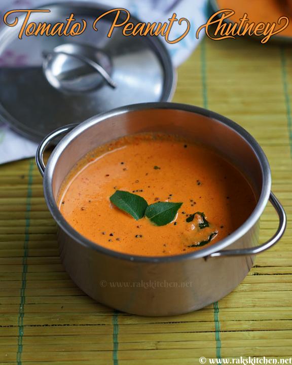 receita de tomate-amendoim-chutney