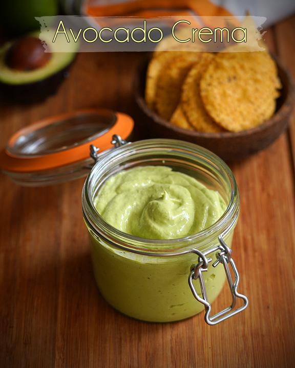 receita de creme de abacate