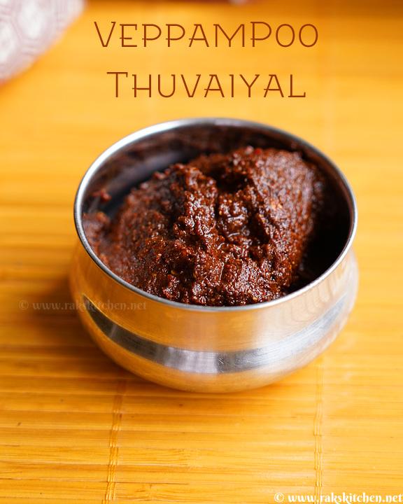 veppam-poo-thuvaiyal-recipe
