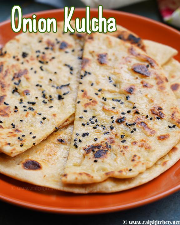 How to make onion kulcha