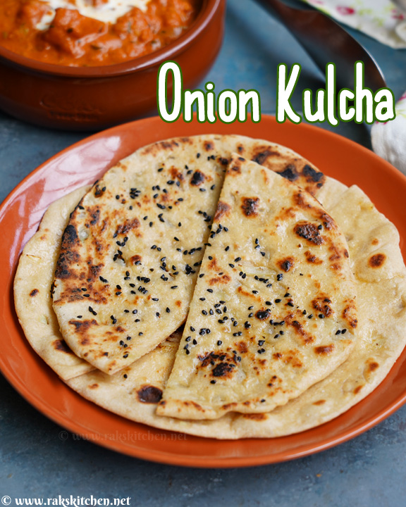 Onion kulcha recipe