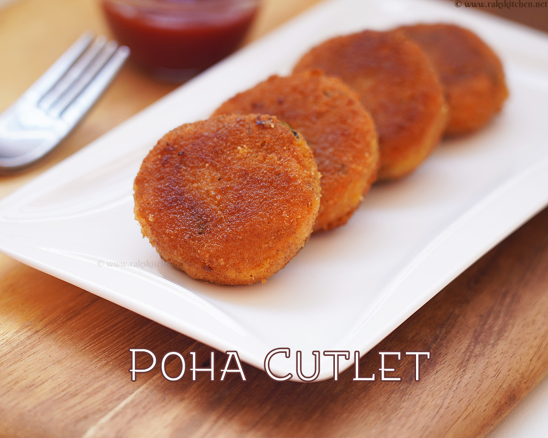 Poha cutlet recipe, No onion no garlic