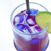 butterfly pea flower lemonade