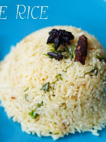 Ghee rice recipe, South Indian nei sadam