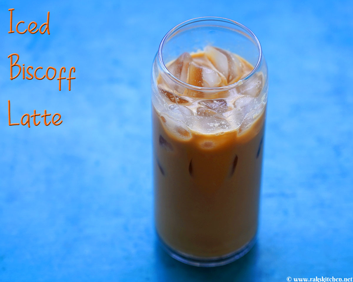 Easy iced biscoff latte Recipe