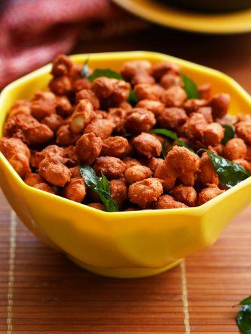 masala peanuts, snack