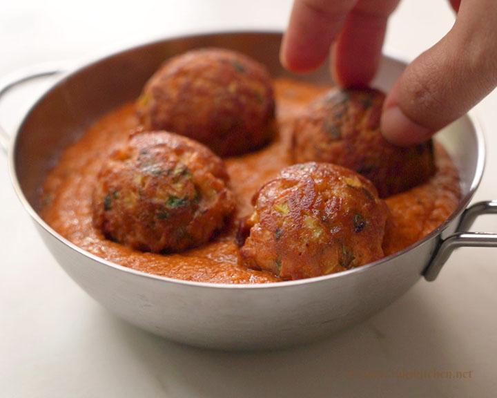 add kofta - lauki kofta without deep frying
