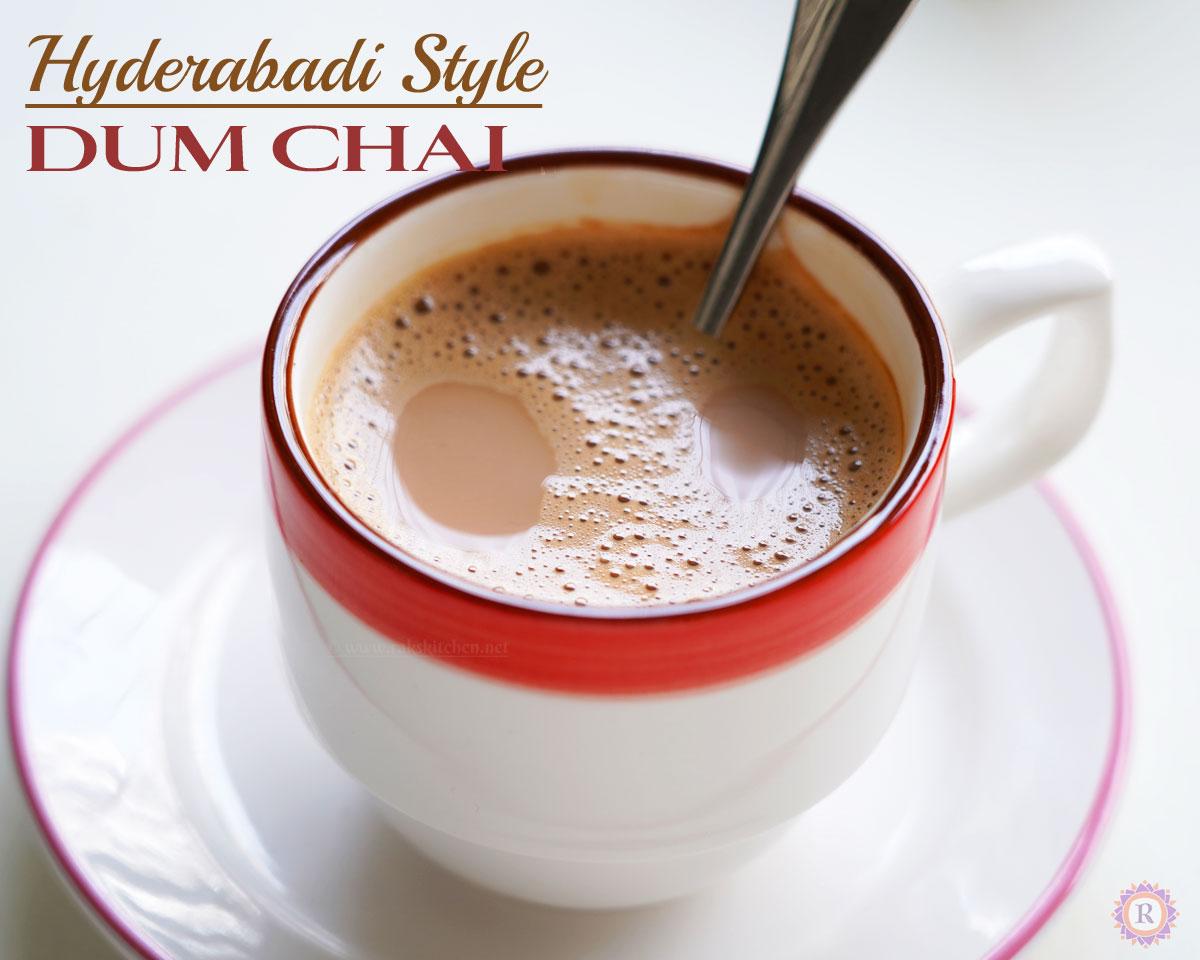 Irani Chai, Hyderabadi Dum tea in Instant pot