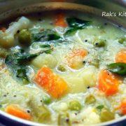 mixed vegetable kootu recipe