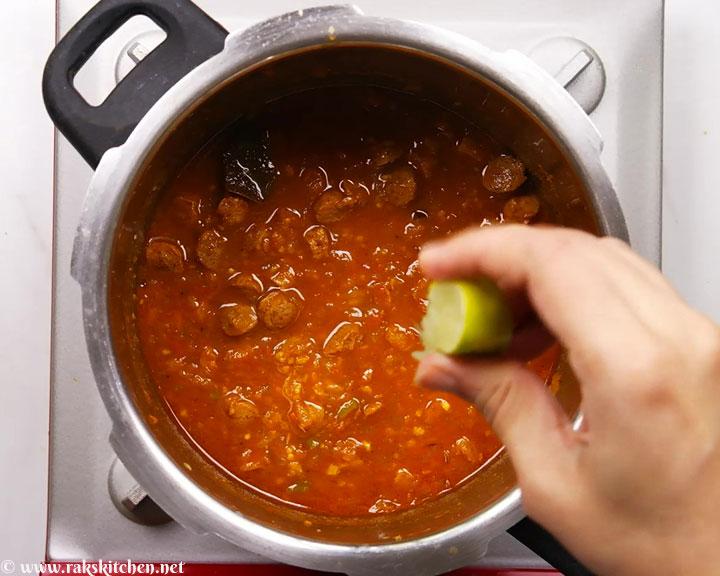 soya meal maker gravy ready