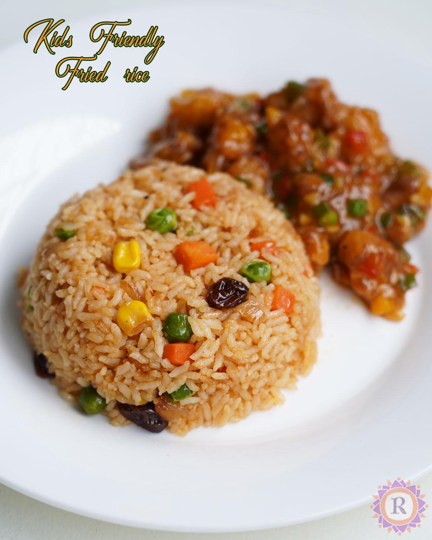 kids friendly fried rice