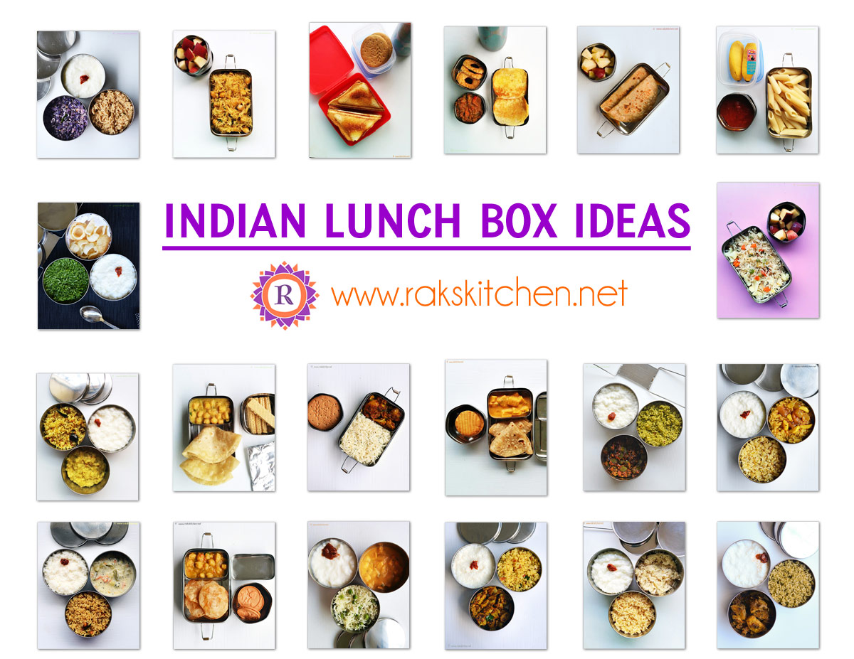 quick & easy indian lunch box ideas