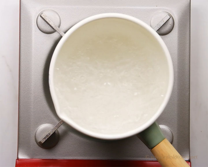 step1 rolling boil