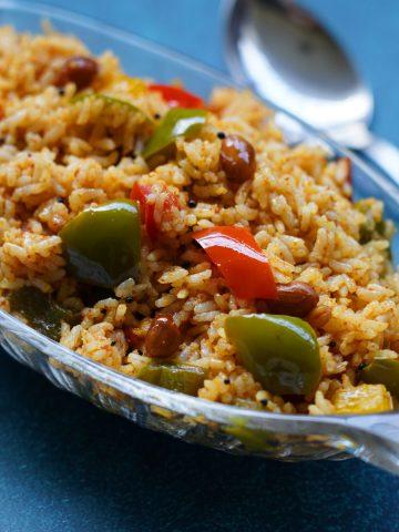 capsicum rice