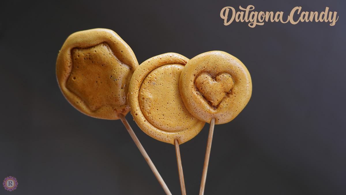 Dalgona candy