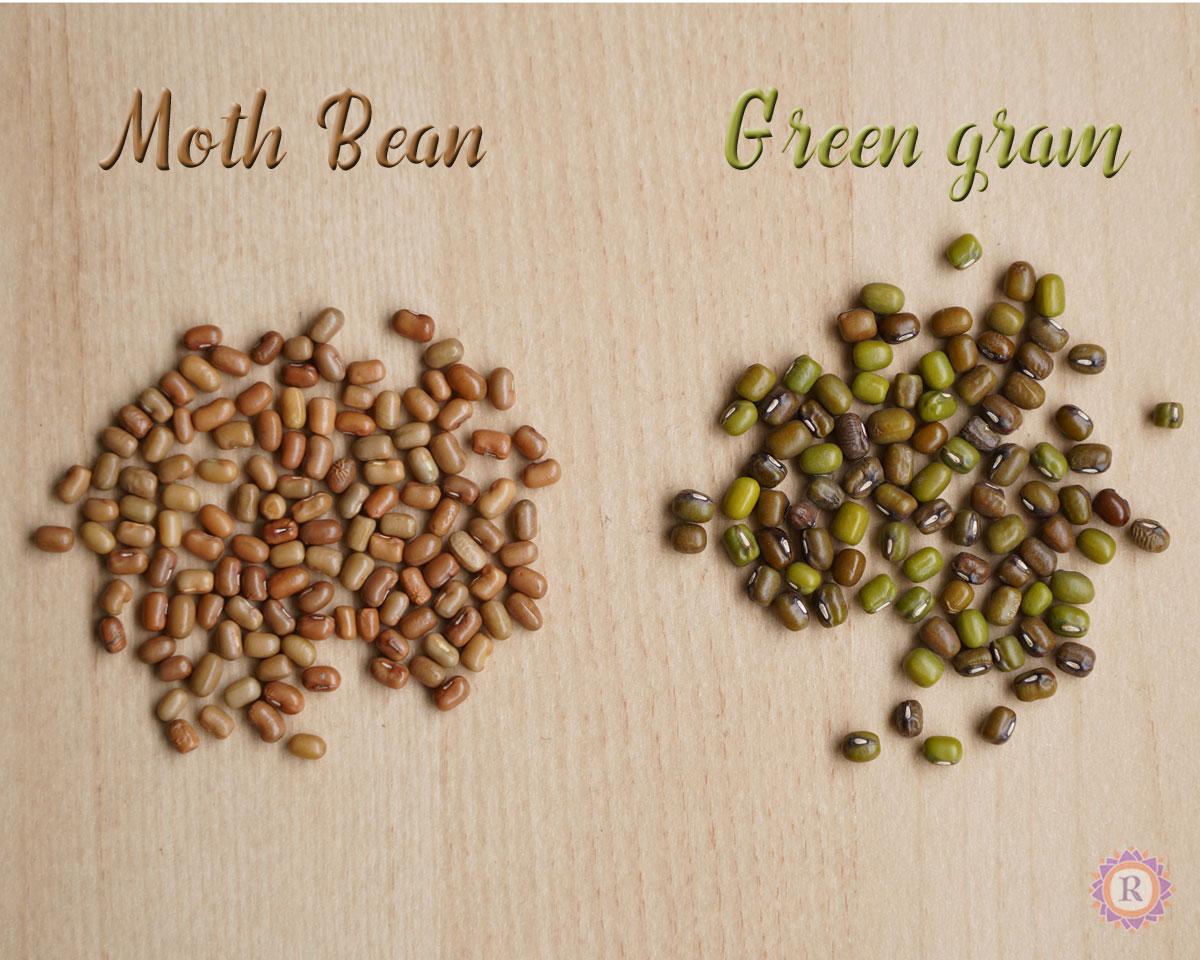 moth bean, green gram