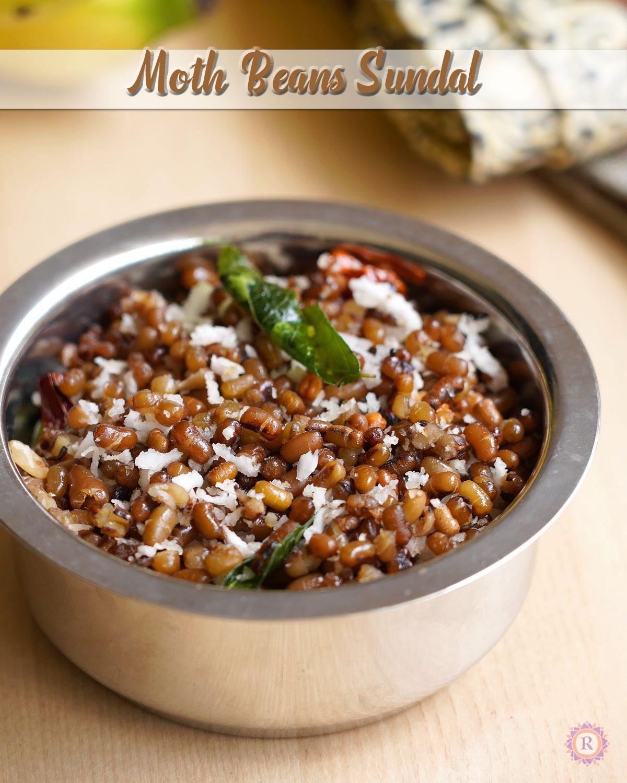 Moth Bean sundal recipe | No soak sundal