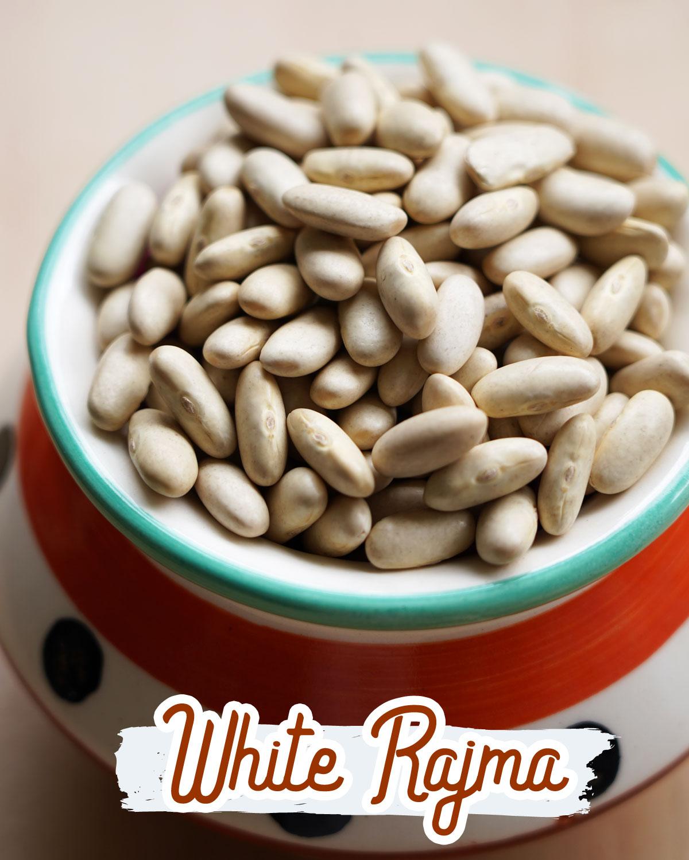 white rajma